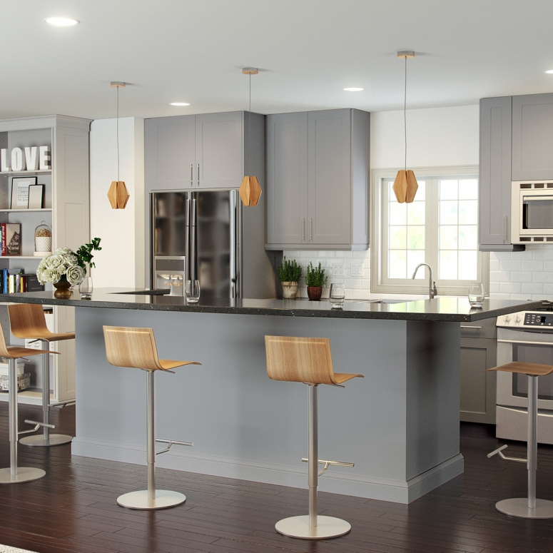 Color - Grey by Cabinets